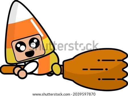 halloween candy mascot costume