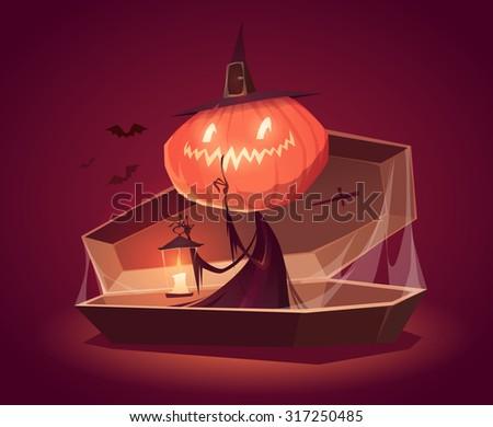 halloween card  background