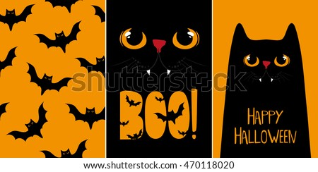Halloween Cute Patterns - Download Free Vector Art, Stock Graphics ...