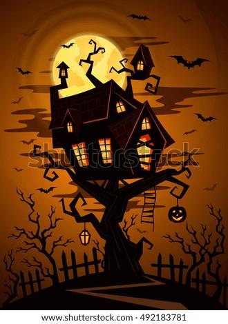 halloween castle in mystic