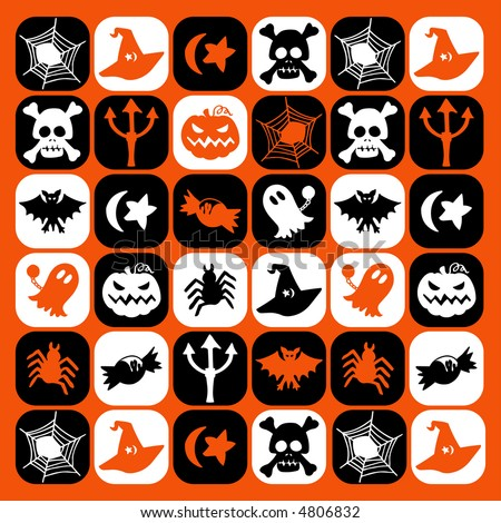Halloween checked pattern - others of same series : http://www.shutterstock.com/lightboxes.mhtml?lightbox_id=616270