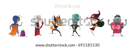 halloweenchildren in halloween