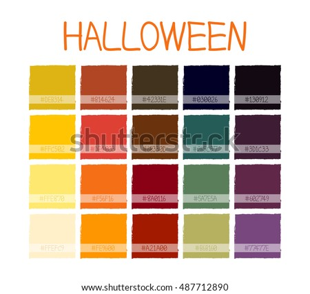 Free Halloween Vector Palette - Download Free Vector Art, Stock ...