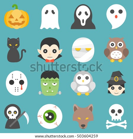 halloween cute cartoon