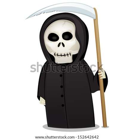 halloween death costume figure