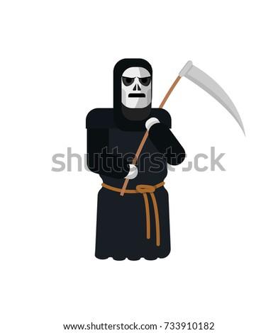 halloween death with a scythe