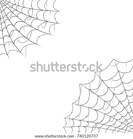 Halloween decorations-cobwebs are old spider