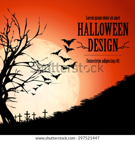 halloween design background