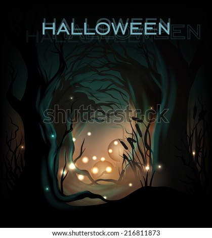 halloween design template