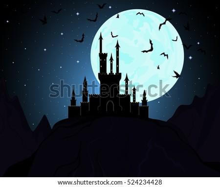 halloween dracula's castle