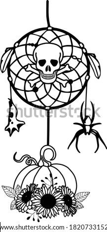 halloween dreamcatcher is