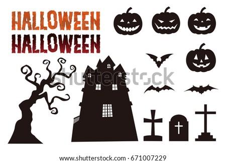 halloween elements  jack o...