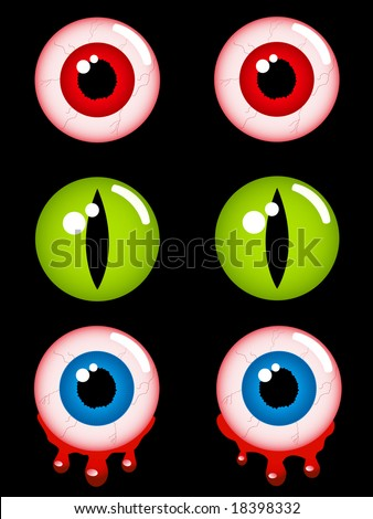 Scary Eyes Clip Art http://www.shutterstock.com/pic-18398332/stock-vector-halloween-eyes-vector-illustration.html