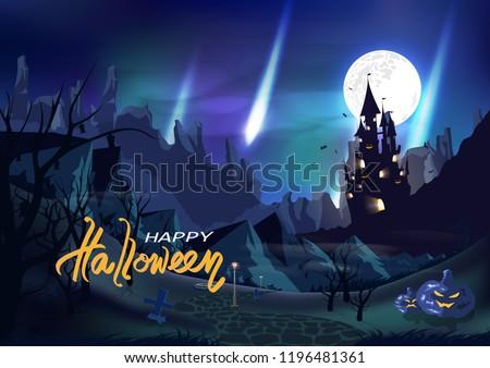 halloween  fantasy castle