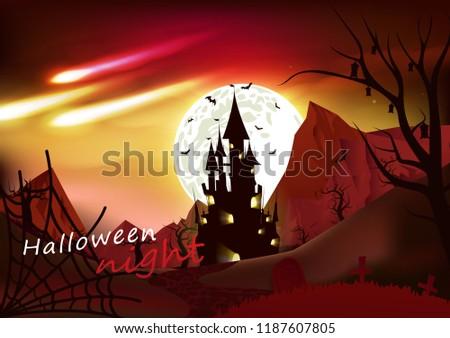 halloween  fantasy poster