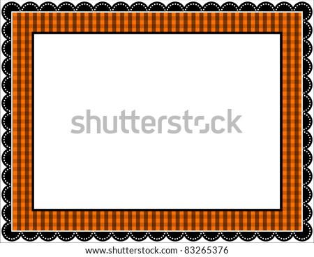 Scallops Border Frame - Download Free Vector Art, Stock Graphics ...
