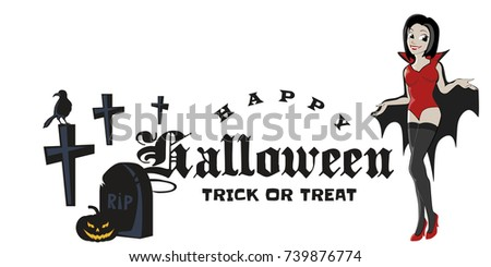 halloween gothic party with