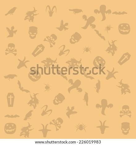 halloween icon background