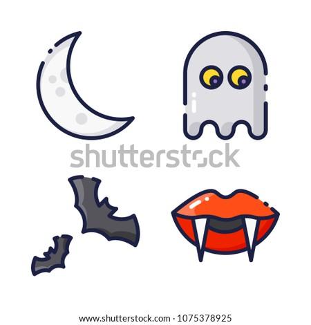 halloween iconblack design