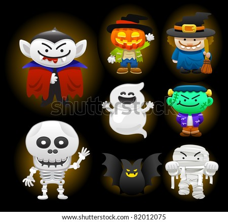 Halloween Vector Icons - Download Free Vector Art, Stock Graphics ...