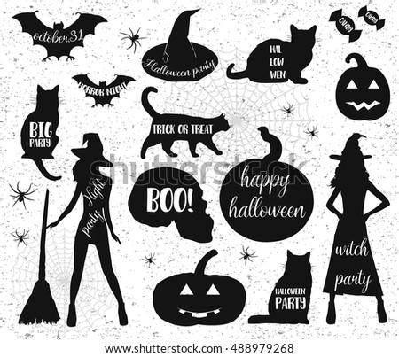 halloween iconshappy halloween