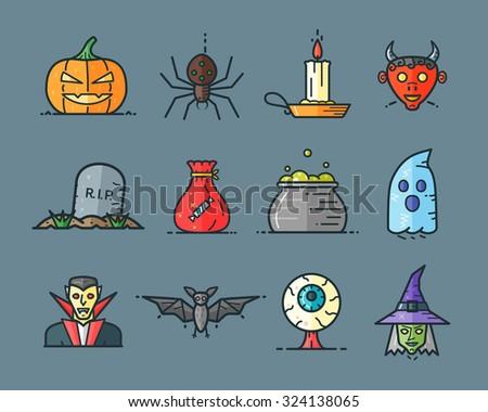 halloween icons in trending