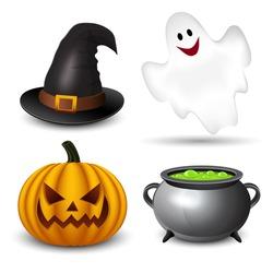 Halloween icons-set
