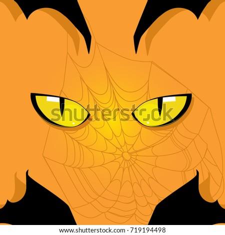 halloween illustration on an