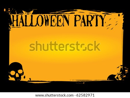 Halloween Invitation or flyer