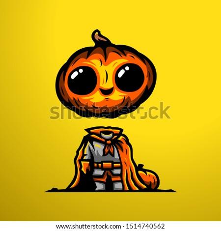 halloween man mascot for event