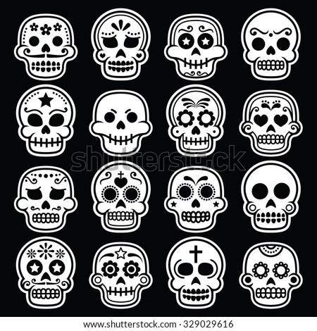 halloween  mexican sugar skull