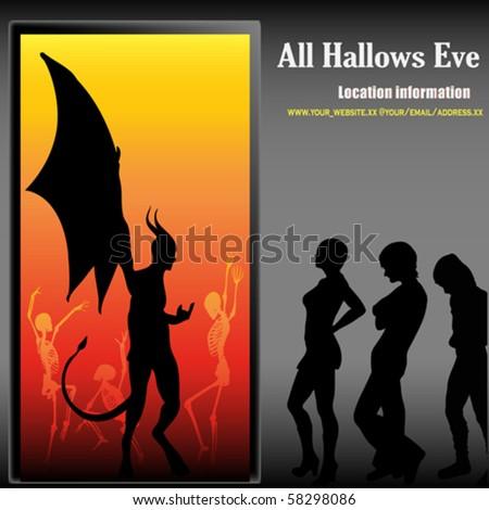 Halloween Party - stock vector