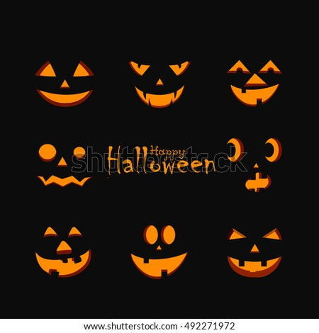 halloween party background happy halloween message design background