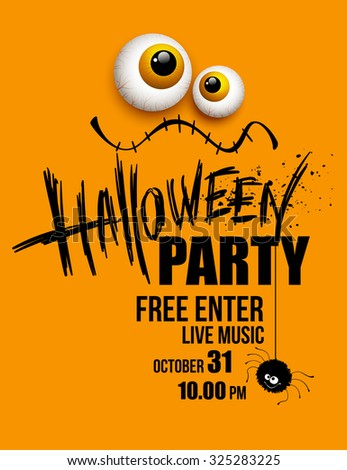 halloween party happy holiday