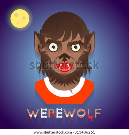 halloween party werewolf role