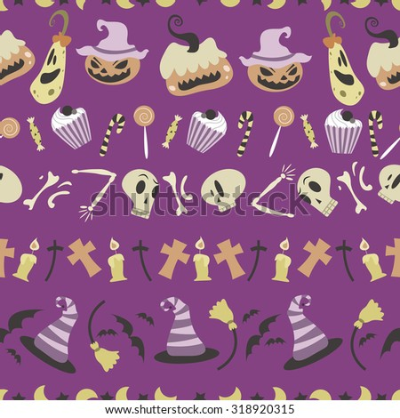halloween pattern 01 in