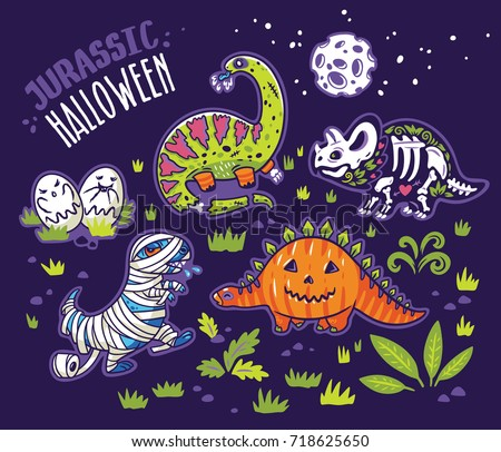 halloween poster design with