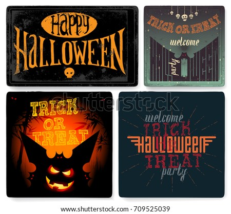Halloween Poster Template - Download Free Vector Art, Stock ...