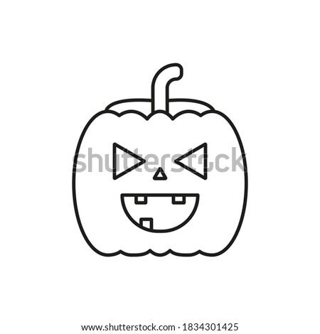 halloween pumpkin icon element