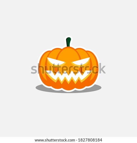 halloween pumpkin  scary or