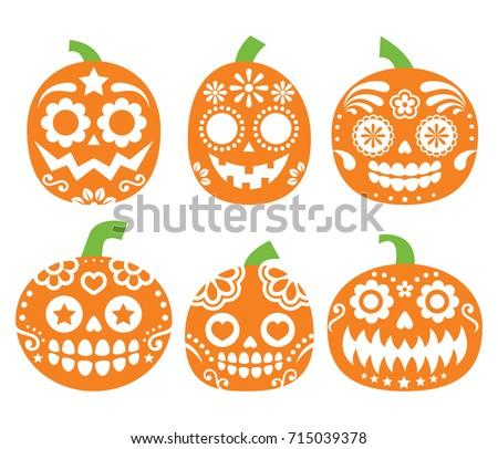 halloween pumpkin vector desgin