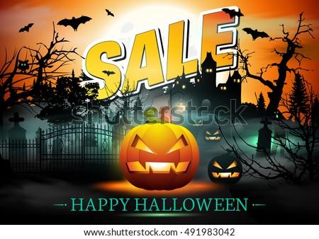 Halloween Sale.