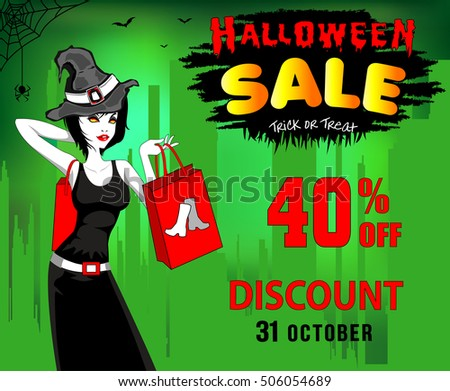 halloween  sale  discount forty