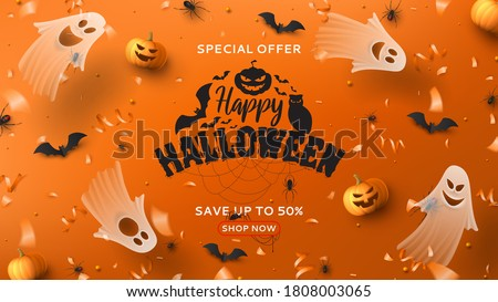 halloween sale horizontal