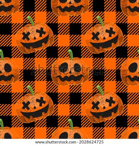 Halloween Seamless. Halloween festival background. Seamless Halloween pattern. Halloween pattern seamless wrapping paper, website banner