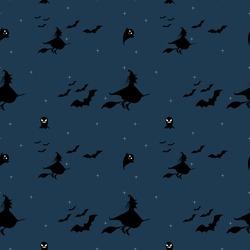 Halloween seamless pattern ,dark background,bats seamless pattern vector,witches seamless pattern,ghost seamless pattern.