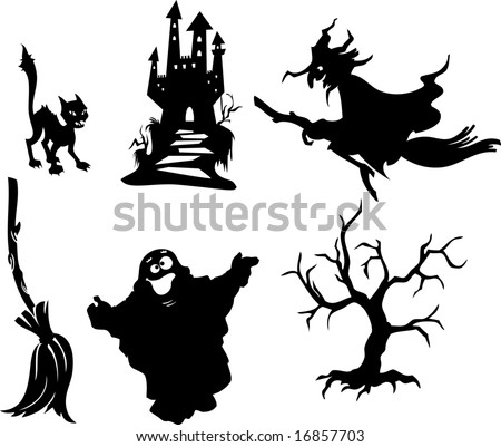 Halloween silhouettes 1