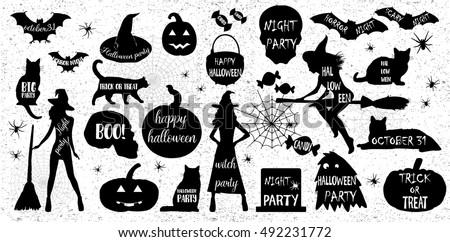 halloween silhouetteshalloween