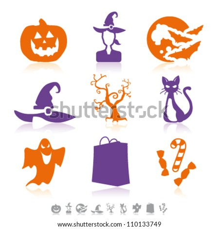 Halloween simple icons