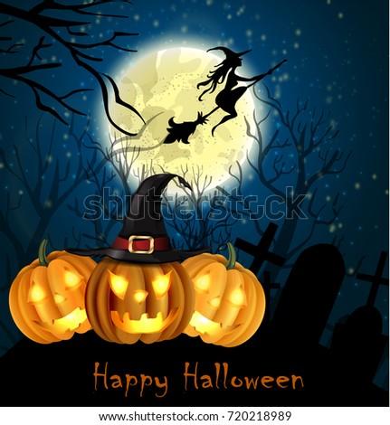 Halloween spooky background #720218989